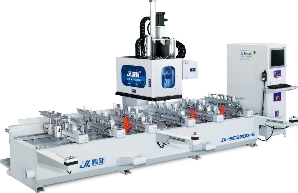 JX-SC3200-5/JX-SC4200-5 数控榫槽机