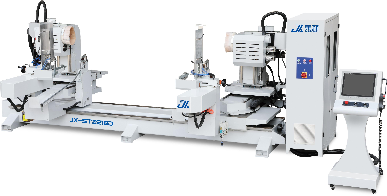 集新機械 JX-ST2218D 全伺服擺角雙端數控榫頭機
