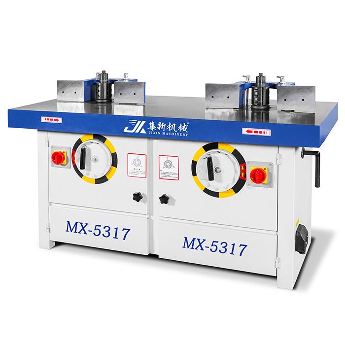 MX-5317立式雙軸木工銑床